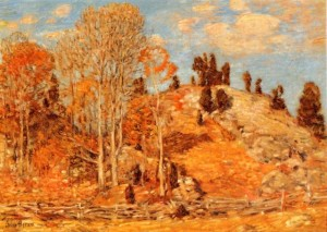 Childe-Hassam - The Cedar Lot_ Old Lyme